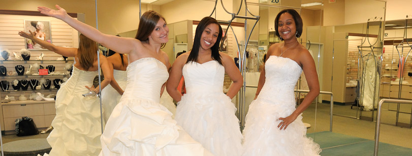Three Bride Models
